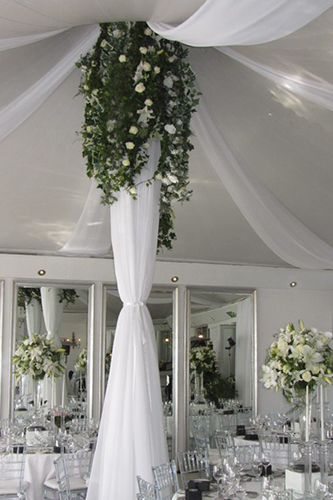 The Duke and Duchess - Reception And Table Decor